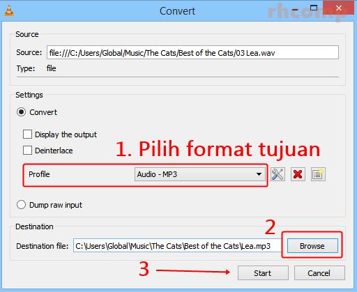 Cara Mengubah Format Musik Dengan VLC Media Player