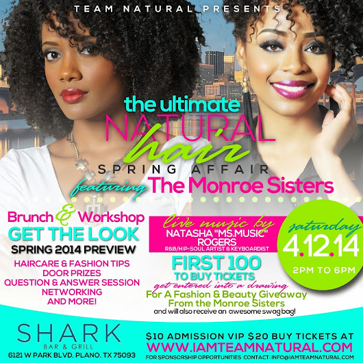 The Ultimate Natural Hair Spring Affair Event