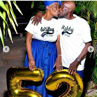 Nigerians Couples Celebrate 52 Years Together In Marriage (photo)