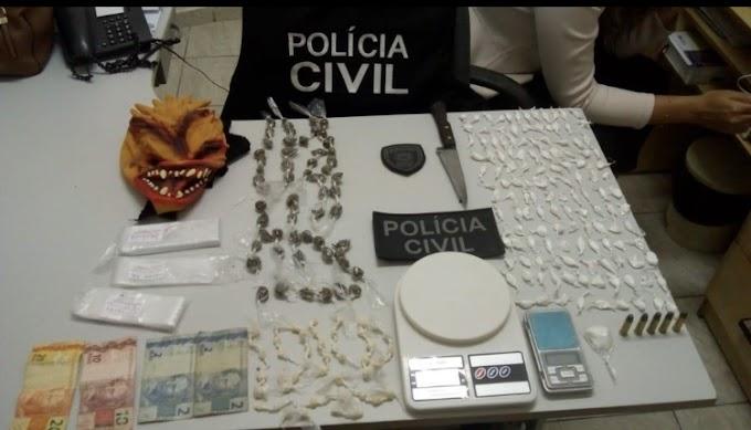 Casal é detido suspeito de integrar organização criminosa e traficar drogas em Umbuzeiro, PB