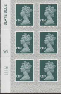 £2 definitive stamp 2019 Walsall printing cylinder block