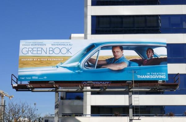 Green Book movie billboard