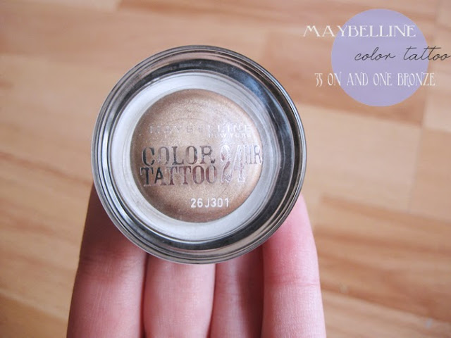 Maybelline Color Tattoo 35 On and on Bronze