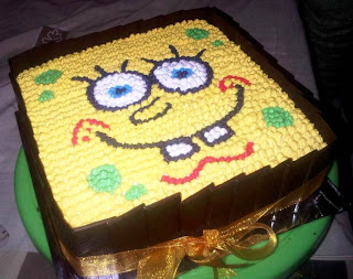 Doyan Kue Birthday Cake Spongebob Tifa