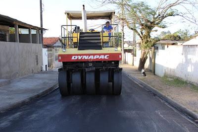Prefeitura de Registro-SP pavimentará 5 ruas em três bairros