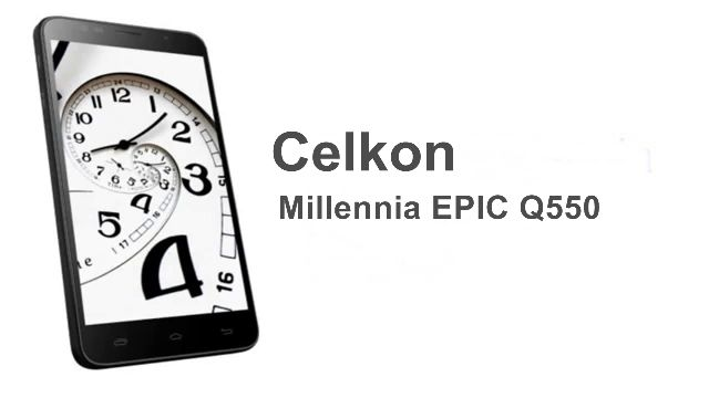Celkon Millennia EPIC Q550 Hard Reset, Unlock, Forgot Password Recovery