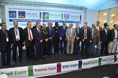 Plus de 160 entreprises et 16 pays africains exposent à la 11e édition d'Elec Expo à Casablanca