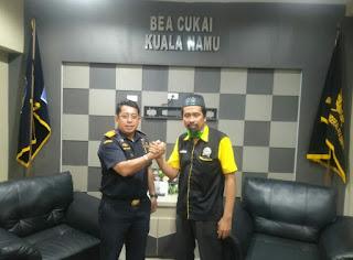 Lembaga GAMBAR Batu Bara Silaturahmi Ke Kantor Bea Cukai Kuala Namu