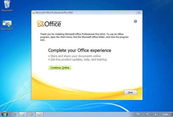 Microsoft office 2010 vlk