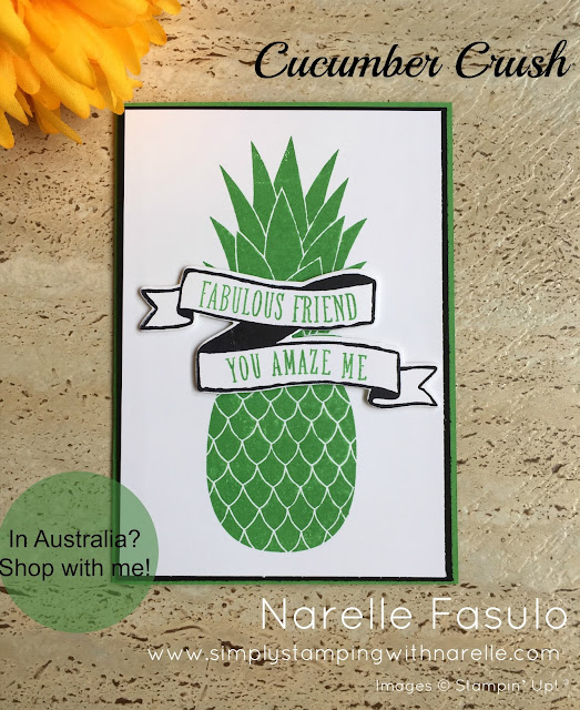 Cucumber Crush - Simply Stamping with Narelle - available here - https://www3.stampinup.com/ecweb/default.aspx?dbwsdemoid=4008228