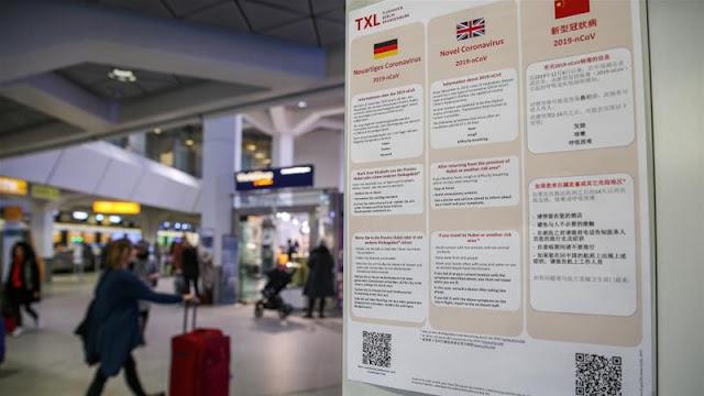 """اختبار الكشف عن فيروس كورونا للعائدين من """"مناطق الخطورة"""" اصبح إلزاميا في ألمانيا"""