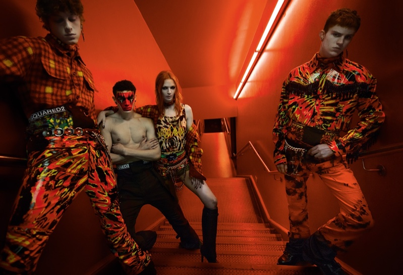 DSquared2 Fall/Winter 2019 Campaign