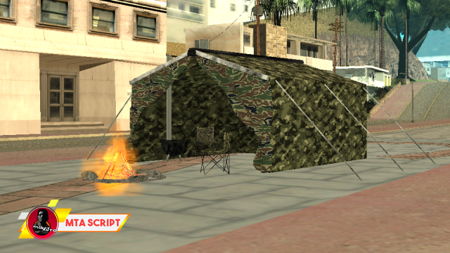 MTA:SA Askeri Çadır Objesi