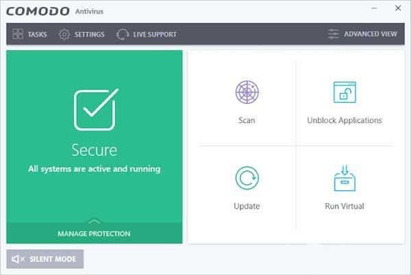 تحميل برنامج كومودو انتي فايروس