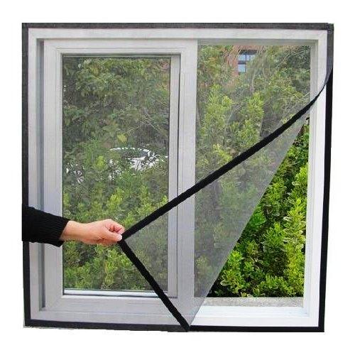 Gunakan jaring di jendela dan pintu.