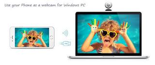 برنامج, مميز, لتحويل, آيفون, / آيباد, إلي, كاميرا, ويب, للكمبيوتر, iVcam