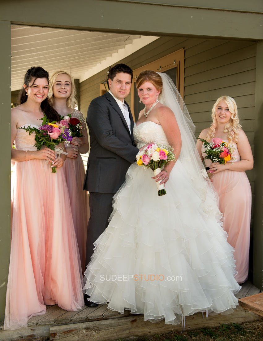 Best Pink Dress for Brides Maid Rustic Wedding Photography - Ann Arbor Photographer Sudeep Studio.com