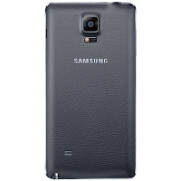 Samsung Galaxy Note 4 (rear)