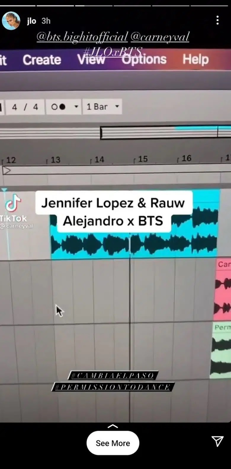 Share Her Mashup Song and BTS, Jennifer Lopez Gives Collaboration Hints?