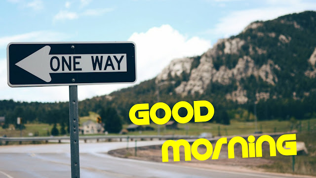 good morning highway image