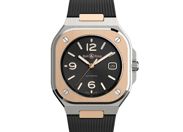 Bell & Ross BR05 Black Steel and Gold