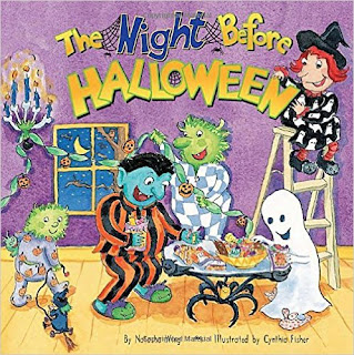 "Cover of book ""The Night Before Halloween"""