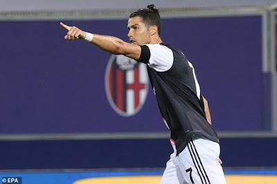 Ronaldo quên nỗi buồn mất cúp, bùng nổ tái xuất Serie A cực chất 6