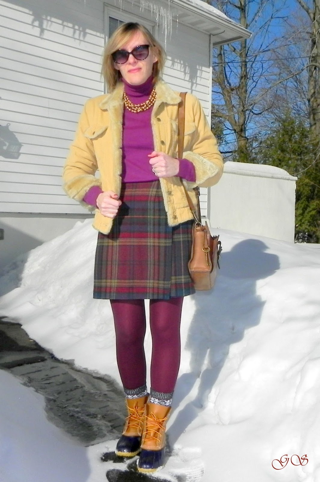 Garments Speech Way to wear the Wrap Plaid Skirt with