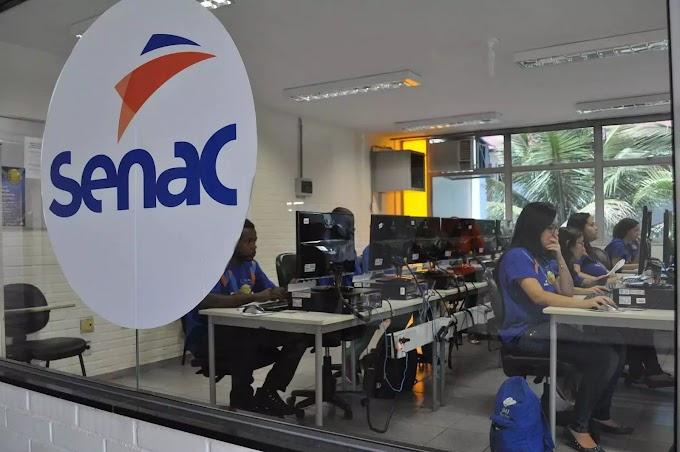 Senac EAD abre 1.545 vagas gratuitas em 11 cursos técnicos para o RN e outros 8 estados