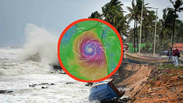 Live Update hurricane in india
