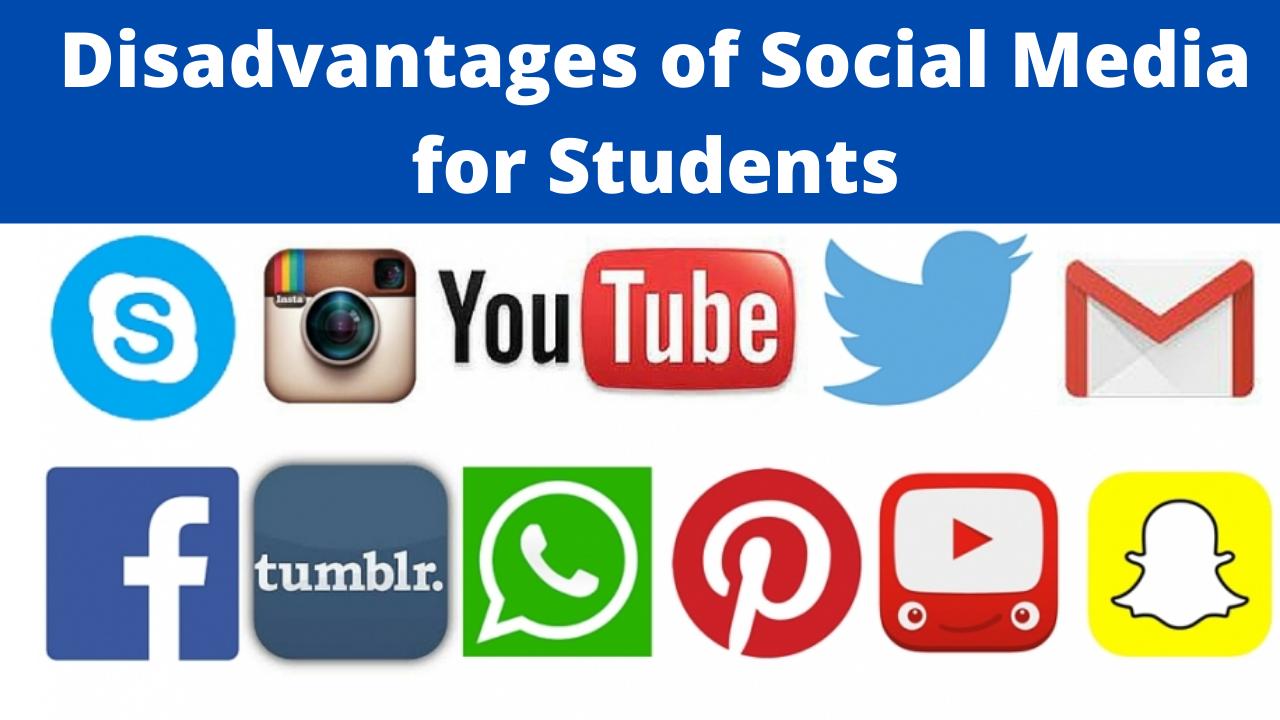 Social Media Advantages And Disadvantages For Student-2021