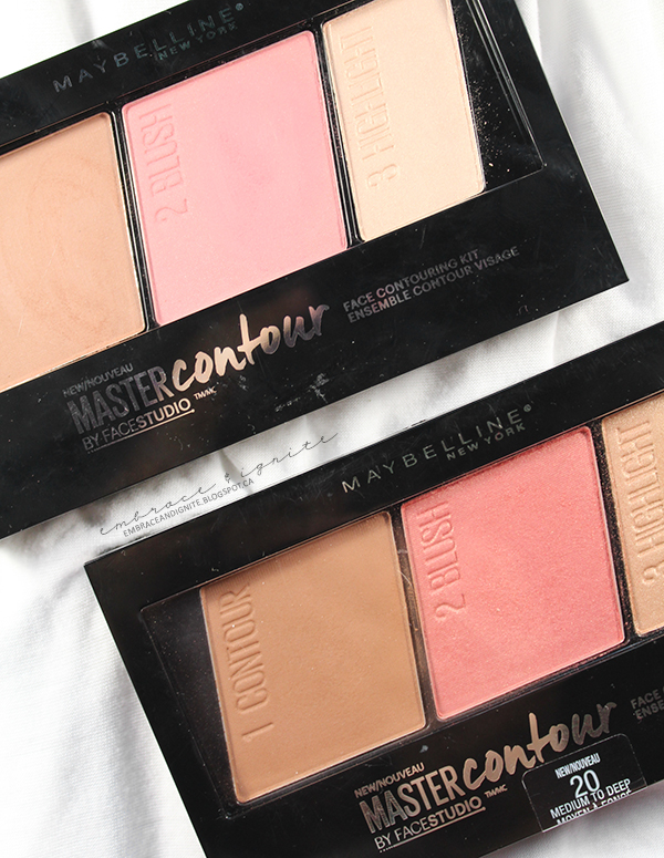 c7d08d40e2f Embrace and Ignite: Maybelline Master Contour Face Contouring Kits ...