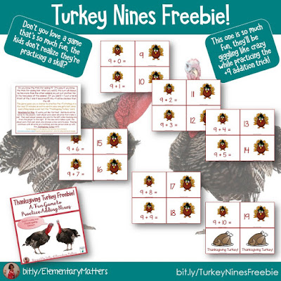 https://www.teacherspayteachers.com/Product/Turkey-Adding-Nines-Freebie-409094?utm_source=November%20blog%20post&utm_campaign=Turkey%20Nines%20Freebie