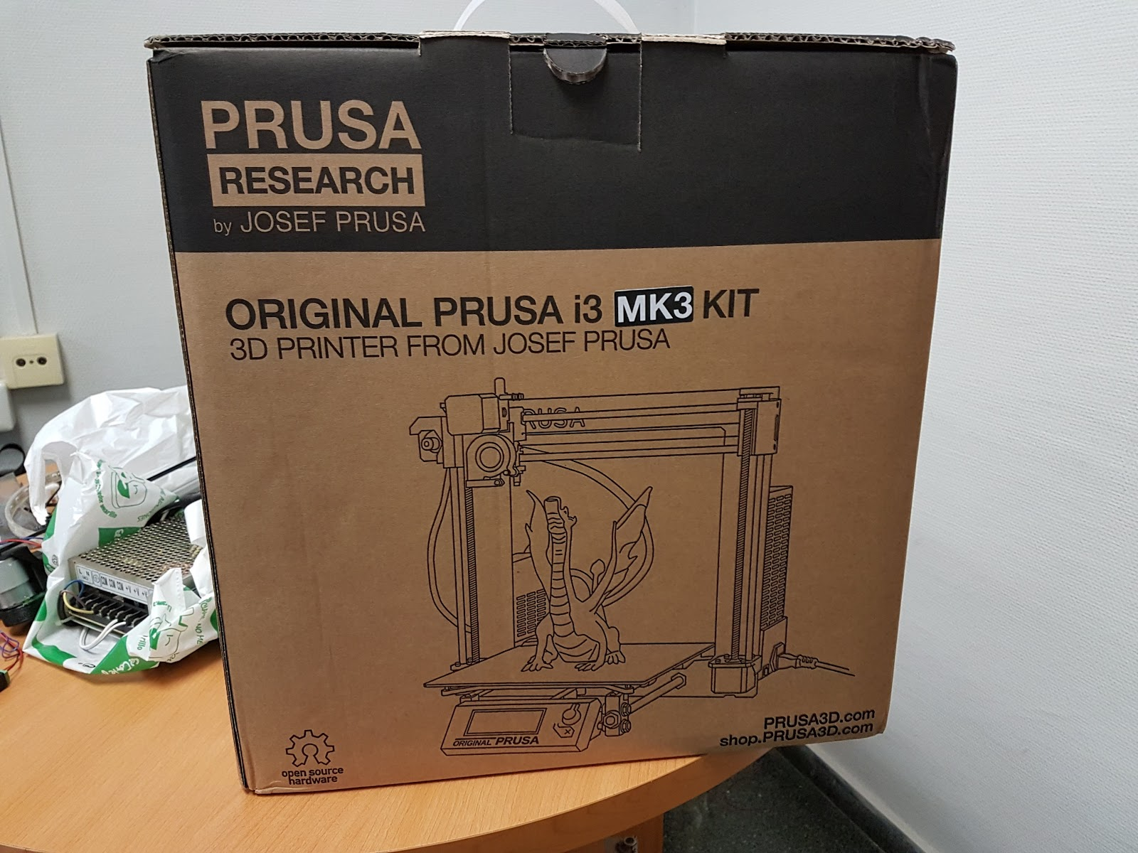 I bought a Prusa MK3 too