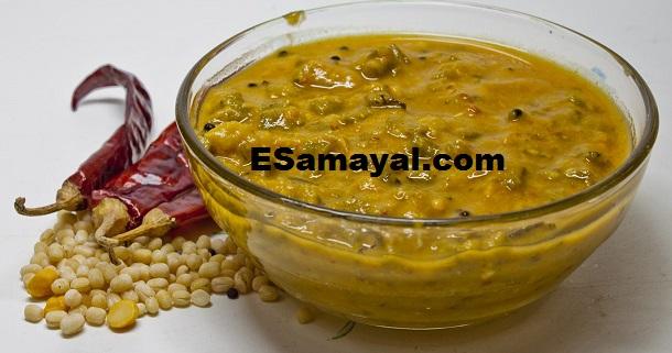 கொத்தவரங்காய் பச்சடி செய்வது | Cluster Beans Pachidi Recipe !
