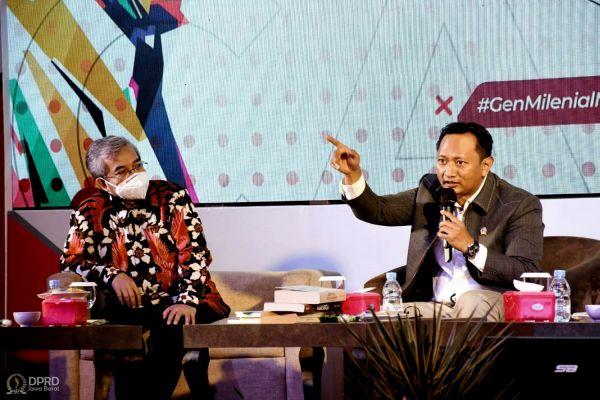 Parlemen Mengabdi 2021 : Pembudayaan Pancasila di Sektor Pendidikan Untuk Melahirkan Generasi Indonesia Emas