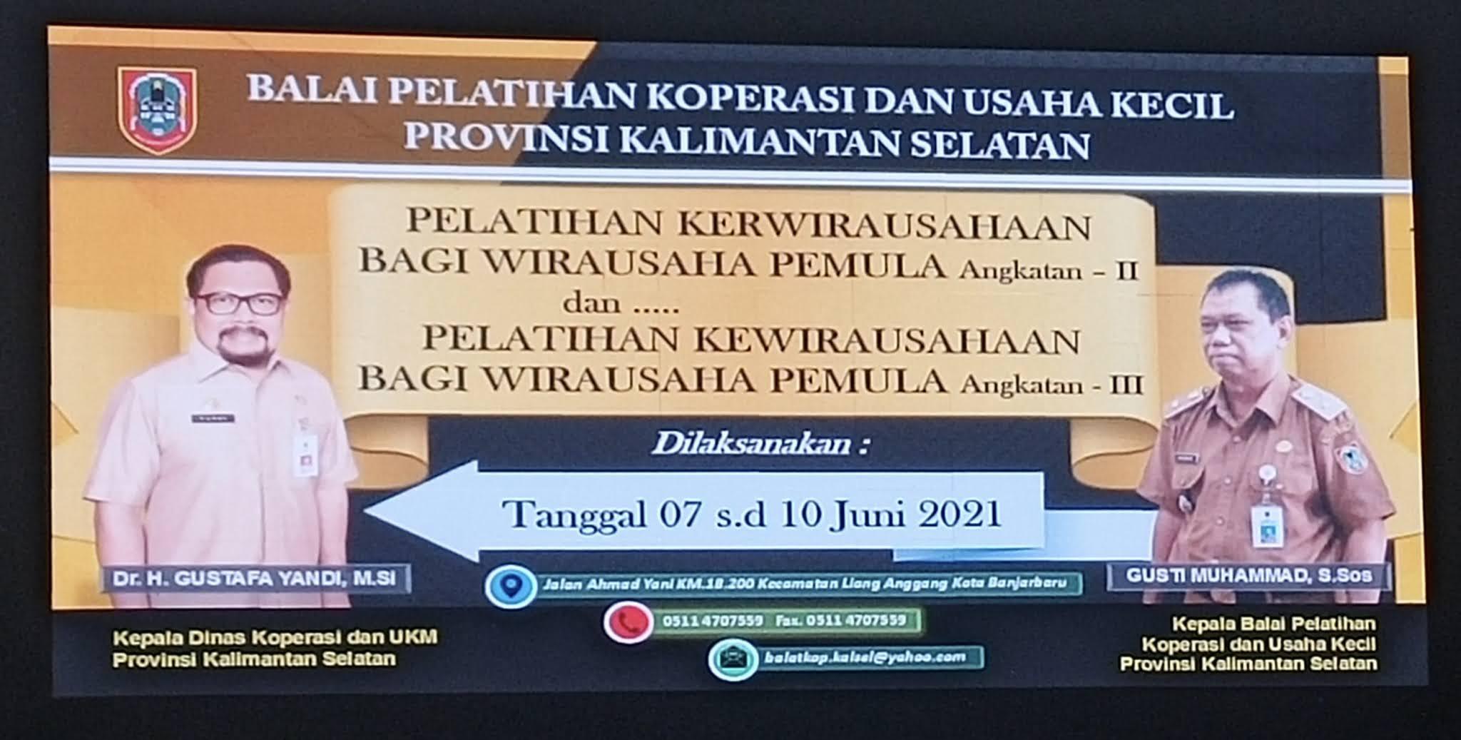 Balai Pelatihan Koperasi dan Usaha Kecil Provinsi Kalimantan Selatan
