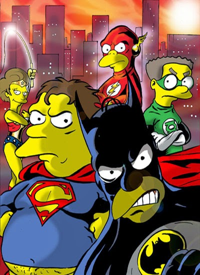 Simpsons Justice League