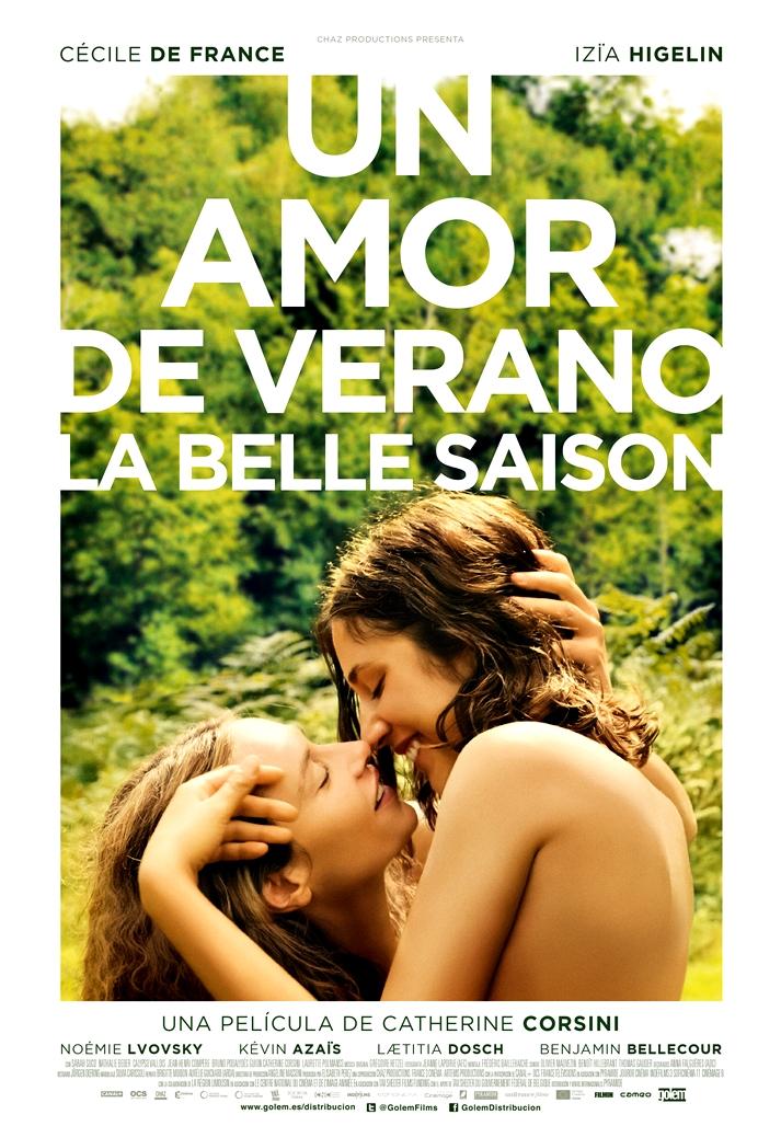 Póster: Un amor de verano (La belle saison)