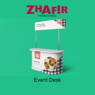 Cetak Event Desk Meja Promosi