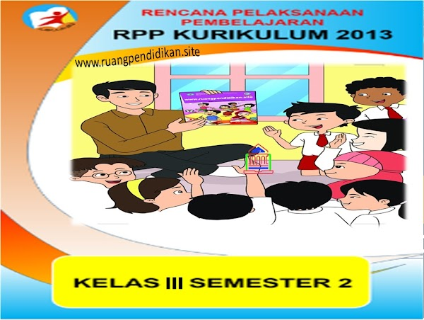 Download RPP 1 Lembar Kelas 3 SD/MI Kurikulum 2013