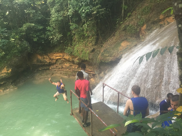 Cliff Jumping Jamaica