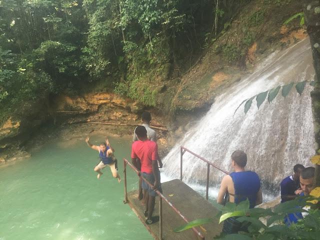 Cliff Jumping Jamaica
