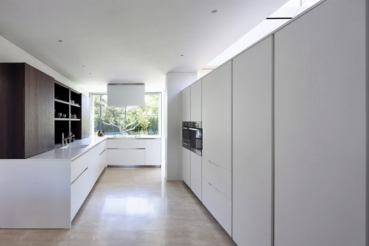 Kitchen in Modern family home by Domb Architecture