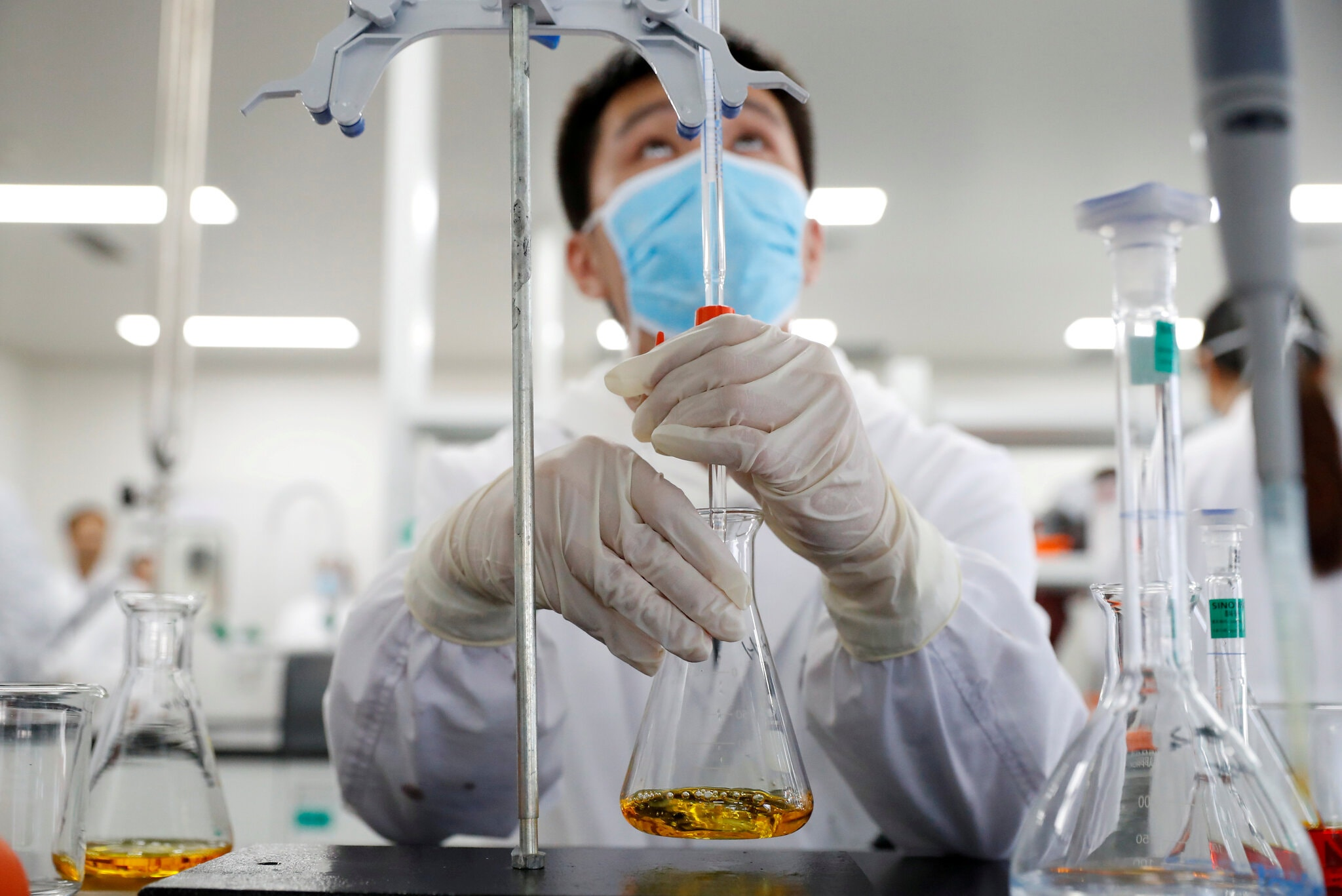 Chinese Biotech Firm Sinovac Unvieled Massive Vaccines