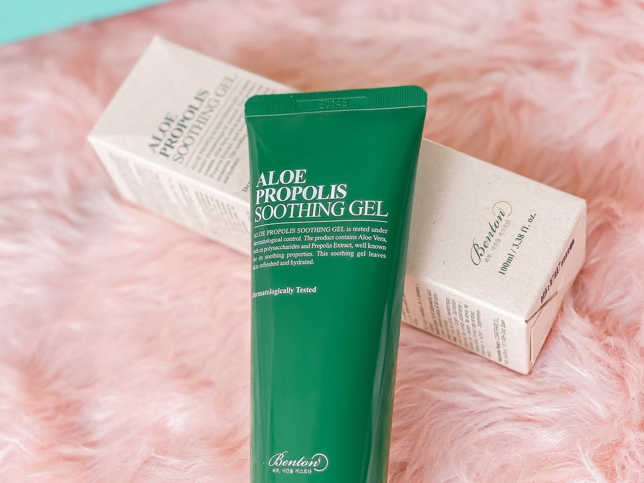 Style Korean Try Me Review Me: First Impressions on Influencers' Favorites from BENTON - BENTON ALOE PROPOLIS SOOTHING GEL