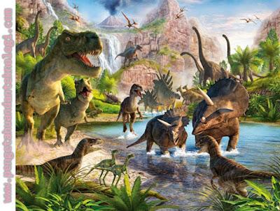 Hewan yang hidup pada zaman mesozoikum