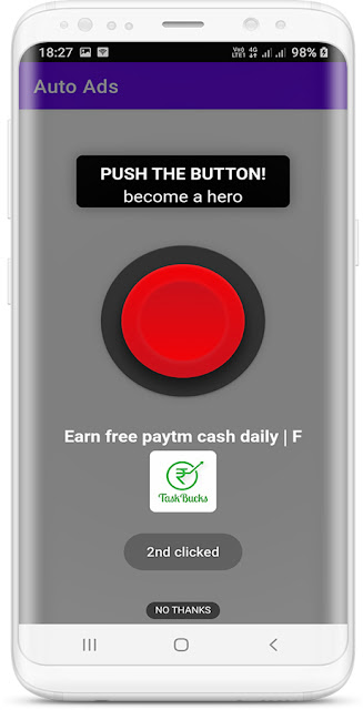 StartApp Ads Auto Clicker Android Studio App - 2