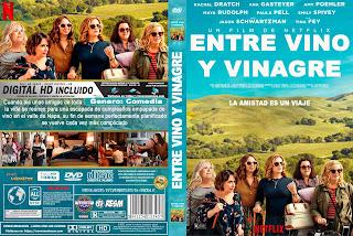 [COVER NETFLIX] ENTRE VINO Y VINAGRE – WINE COUNTRY – 2019 [COVER DVD]