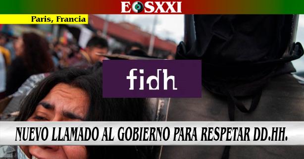 """Nuevo llamado internacional al gobierno colombiano a """"cesar la represión"""""""